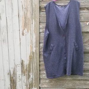 Knit Kimono Vest